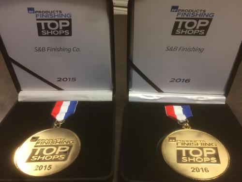 S&B Award 2015 and 2016